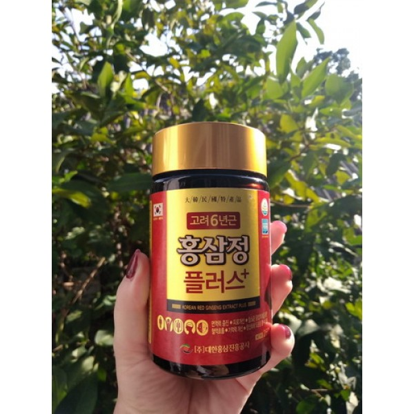 Красный корейский корень женьшеня. 250 гр.