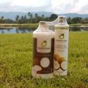 Набор : кокосовый скраб и кокосовое масло Tropicana