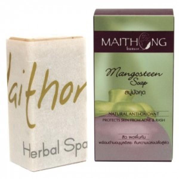 Натуральное мыло с мангостином и семенами кунжута