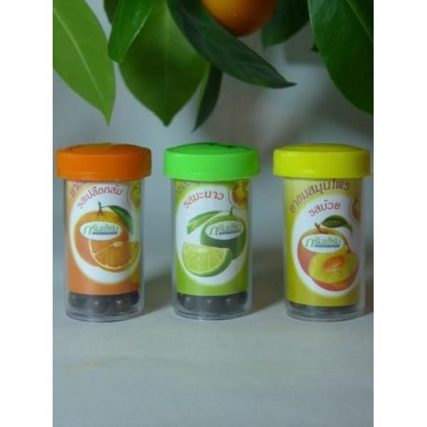 Травяные шарики для рассасывания от кашля и боли в горле