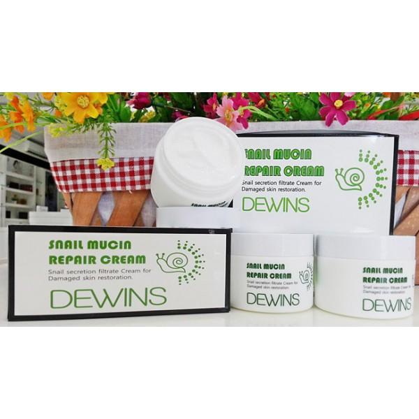 Улиточный крем для лица от Dewins