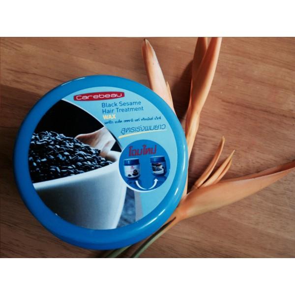 Маска для темных волос с семенами кунжута