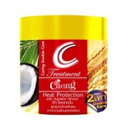 Маска для волос с экстрактом пшеницы и кокоса