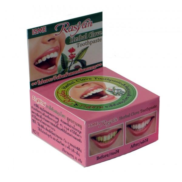 Натуральная зубная паста на травах