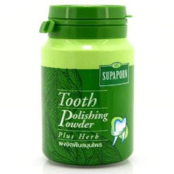 Натуральный отбеливающий зубной порошек